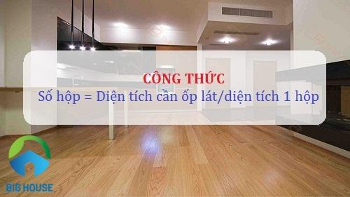 1 thùng gạch bằng bao nhiêu m2? Diện tích nhà bạn cần bao nhiêu?