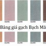 Bảng báo giá gạch ốp lát Bạch Mã Đầy đủ – Chất lượng nhất Việt Nam