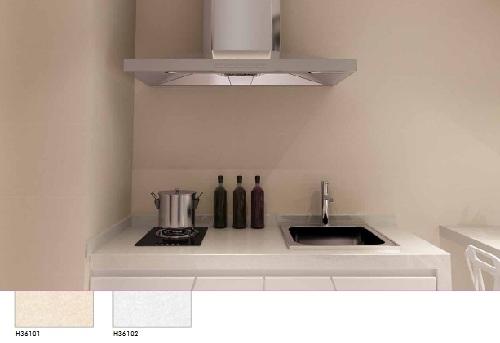 Mẫu gạch ốp tường bếp Bạch mã đồng màu nền sang trọng