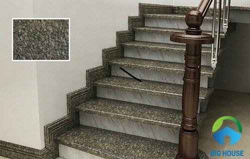 Mẫu gạch ốp cầu thang bạch mã mệt mỏi