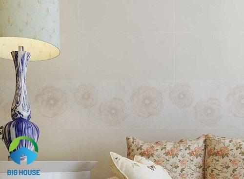 Gạch ốp tường phòng ngủ Bạch mã