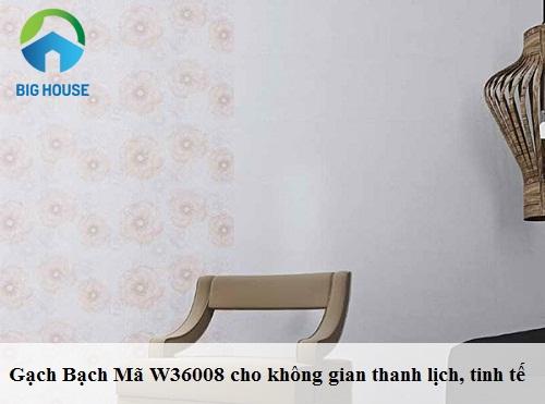 Gạch ốp tường bạch mã w36008