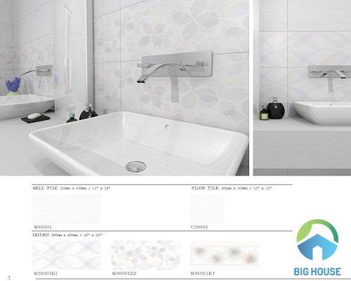 gạch ốp tường nhà tắm bạch mã 10
