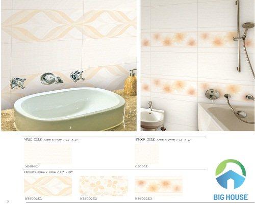 gạch ốp tường nhà tắm bạch mã 9