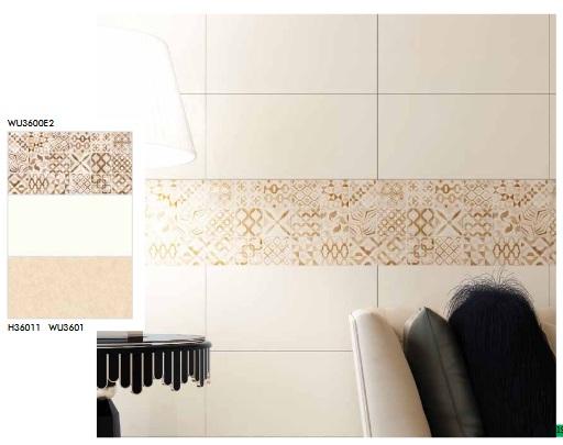 Gạch ốp tường phòng ngủ Bạch mã W3601