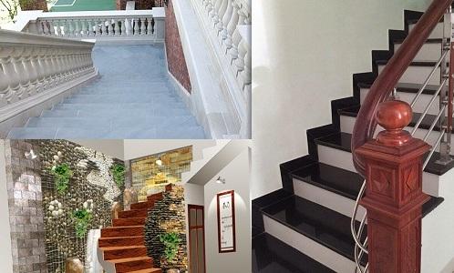 Các mẫu gạch ốp cầu thang Bạch Mã với Thiết kế Độc lạ – Đầy ấn tượng