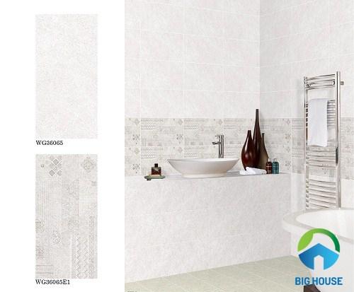 các mẫu gạch ốp nhà tắm theo bộ ấn tượng nhất