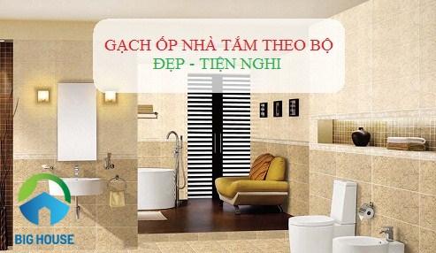 TOP 8 mẫu gạch ốp nhà tắm theo bộ cho từng không gian đầy lôi cuốn