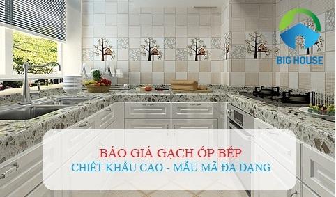 Báo giá gạch ốp tường bếp – Chiết khấu cao, Đa dạng mẫu mã