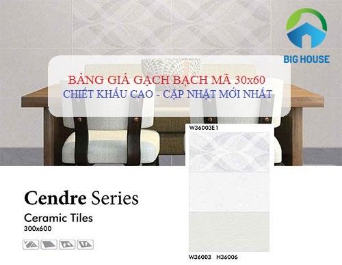 Bảng giá gạch Bạch Mã 30×60 UPDATE mẫu Đẹp – Sang – HOT 2019