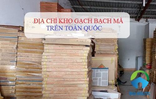 Bật mí các địa chỉ kho gạch Bạch Mã chính hãng lớn nhất Việt Nam
