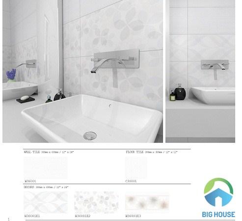 gạch ốp tường trắng W36001