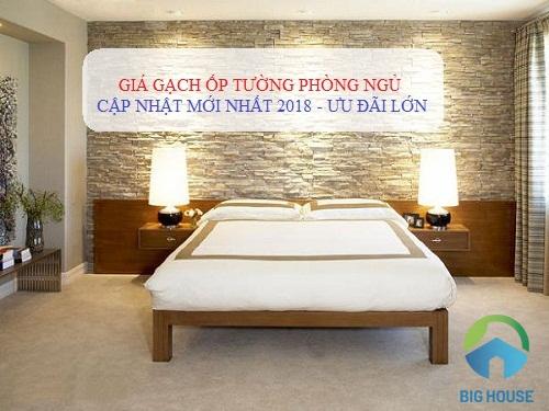 Update bảng giá gạch ốp tường phòng ngủ Mẫu mới – Giá tốt nhất