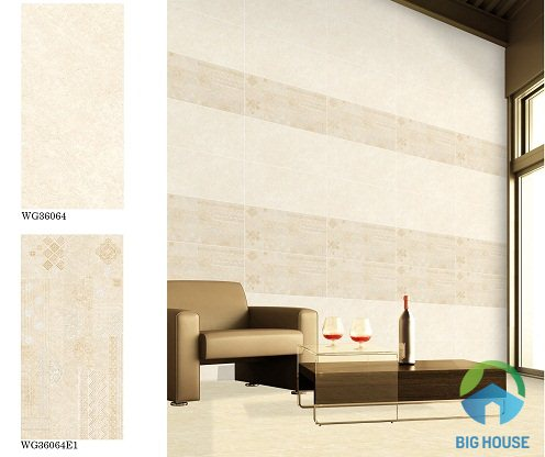 các mẫu gạch ốp tường bạch mã 30x60