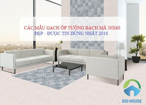 99++ Bộ gạch ốp tường Bạch mã 30×60 Đẹp – Sang cho từng khu vực