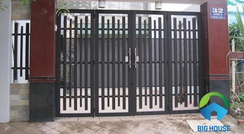 gạch ốp cổng 50x50