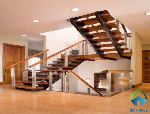 Nguyên tắc thiết kế cầu thang nhà lệch tầng đẹp, Hợp phong thủy