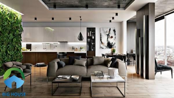 Chọn gạch lát nền phòng khách theo màu sắc hoạ tiết