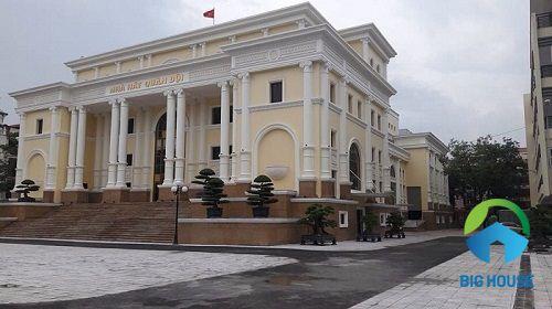 Công trình Nhà hát ca múa nhạc Quân đội