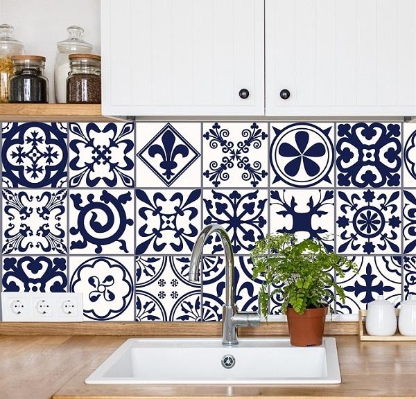 Gạch hoa văn được sử dụng với công năng trang trí và ốp tường