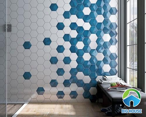 gạch bông 10x10 ốp tường độc đáo