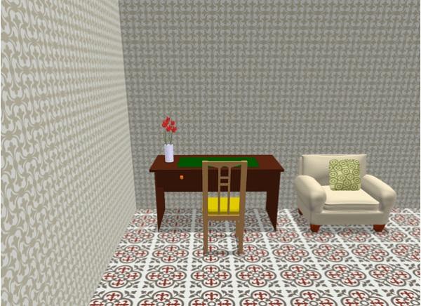 Mẫu gạch bông lát sàn 10x10