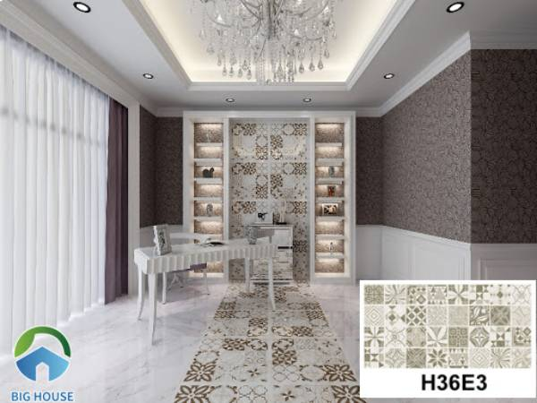 Gạch bông Bạch Mã H36E3
