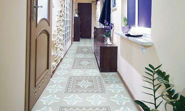 Chọn gạch bông lát nền cho hành lang tạo nên sự mới lạ