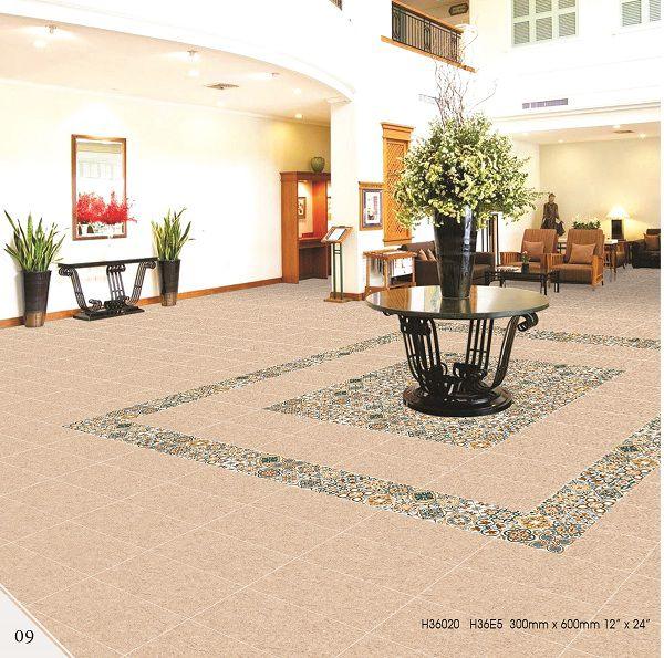 Gạch bông lát nền tạo thảm đẹp mắt, độc đáo