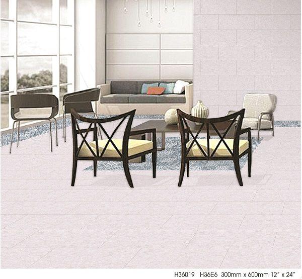 Mẫu gạch bông lát nền giúp tạo thảm cho phòng khách
