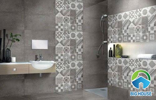 Cách dùng Gạch bông nhà tắm Hiệu quả – Tạo không gian Ấn tượng