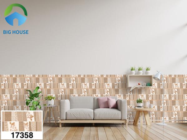 Gạch bông trang trí phòng khách Prime 17358