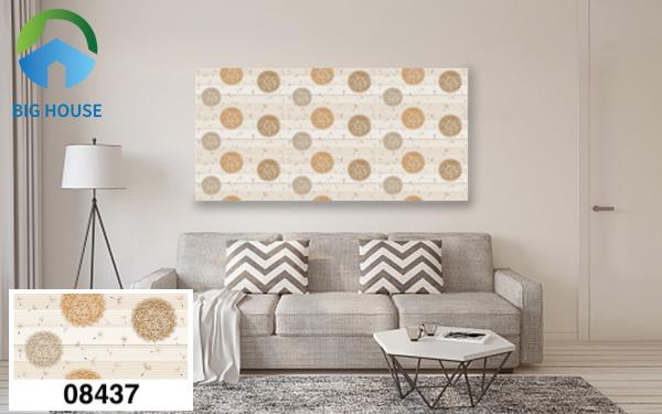 Gạch bông trang trí phòng khách Prime 08437