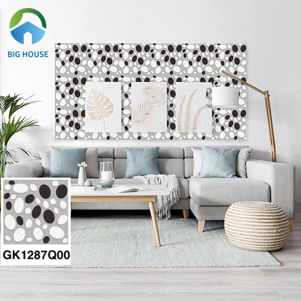 Gạch bông trang trí phòng khách Đồng Tâm GK1287Q00