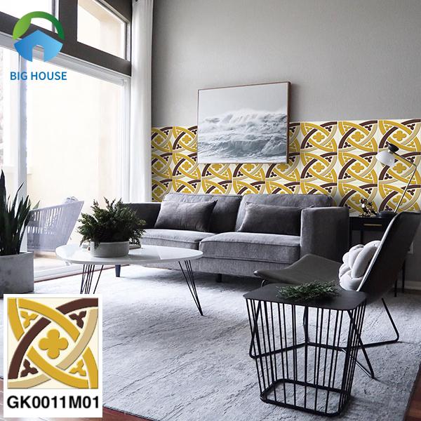 Gạch bông trang trí phòng khách Đồng Tâm GK0011M01