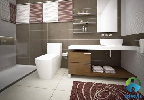 gạch ceramic bán sứ là gì cho nhà vệ sinh