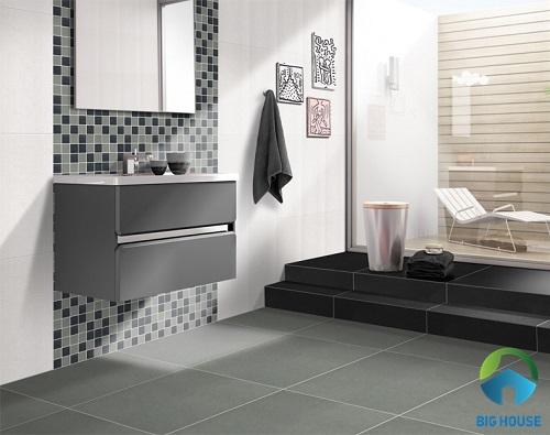 Mẹo hay chọn gạch ceramic nhám cho phòng tắm Hiệu quả nên biết