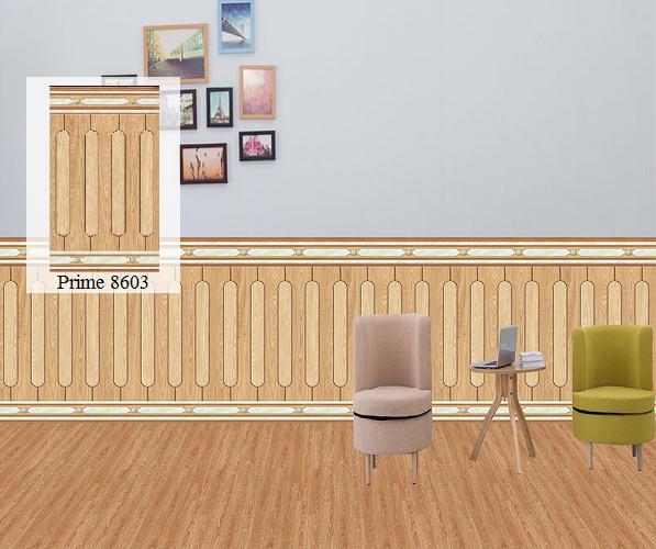 gạch chân tường giả gỗ prime được ứng dụng nhiều nhất