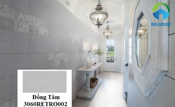 Gạch ốp giả đá Đồng Tâm 3060RETRO002-1 sẽ là lựa chọn phù hợp để ốp tường nội thất