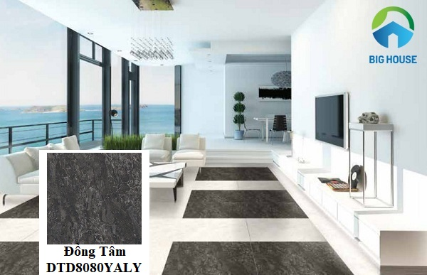 Ứng dụng gạch Đồng Tâm 80x80 DTD8080YALY giúp không gian nội thất trở nên sang trọng hơn