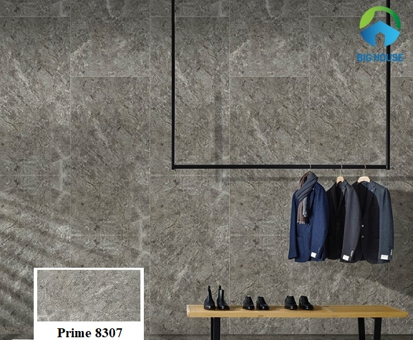 Mẫu gạch ốp giả đá với tông màu xám Prime 08307 60x120 cho nét đẹp cá tính, ấn tượng