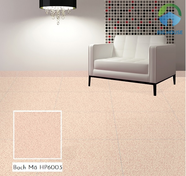 Bạch Mã HP6003 60x60 là một ý tưởng không tồi lát nền không gian phòng khách