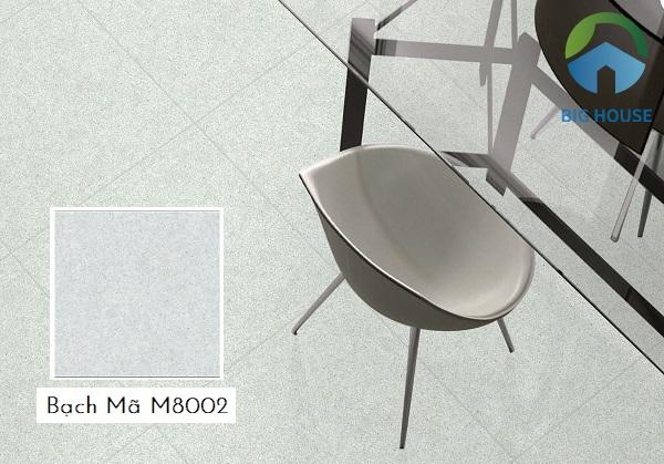 Mẫu gạch giả đá kích thước lớn Bạch Mã M8002 80x80 được ứng dụng phổ biến hiện nay