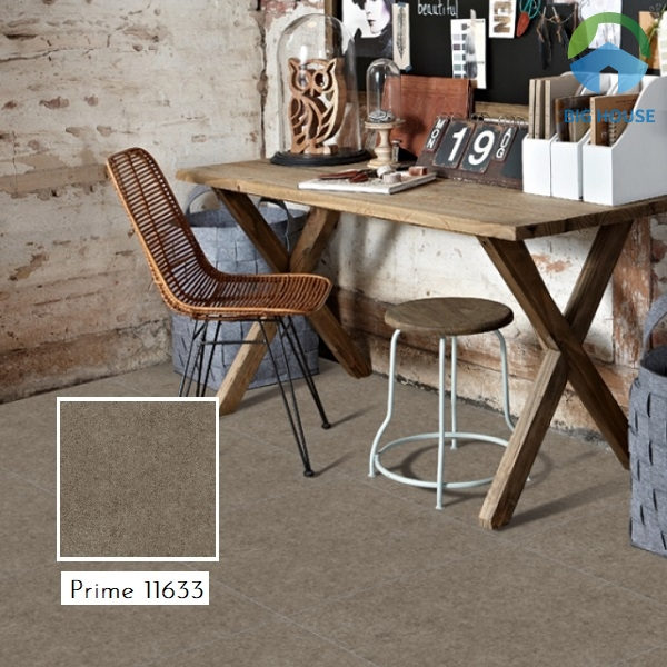 Prime 11633 là mẫu gạch giả đá sở hữu gam màu ghi trung tính giúp toát lên vẻ đẹp trang nhã và hiện đại cho không gian
