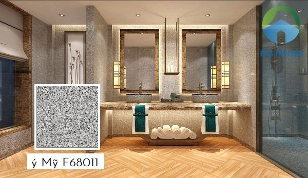 Một trong những gợi ý hoàn hảo về mẫu gạch ốp tường sang trọng đó chính là gạch Ý Mỹ F68011 60x60
