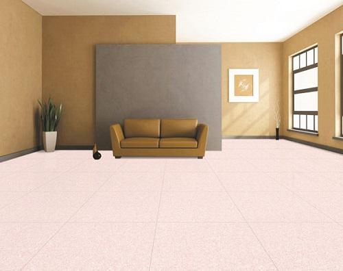Không gian phòng khách rộng rãi hơn hẳn với gạch Bạch mã HDC8001
