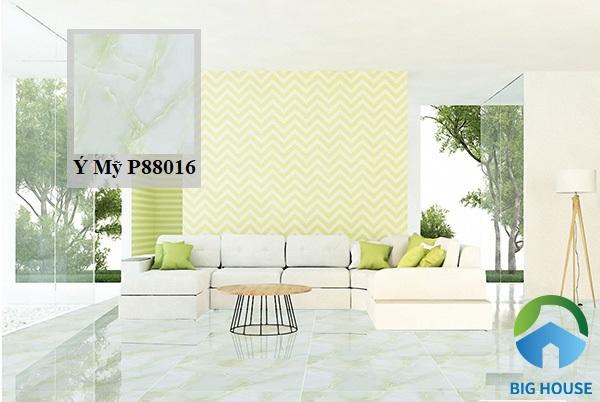 Thêm một mẫu gạch vân đá cẩm thạch đến từ thương hiệu Ý Mỹ cho không gian phòng khách
