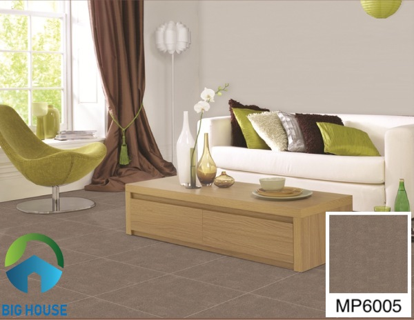 Gạch lát nền phòng khách 60x60 Bạch Mã MP6005