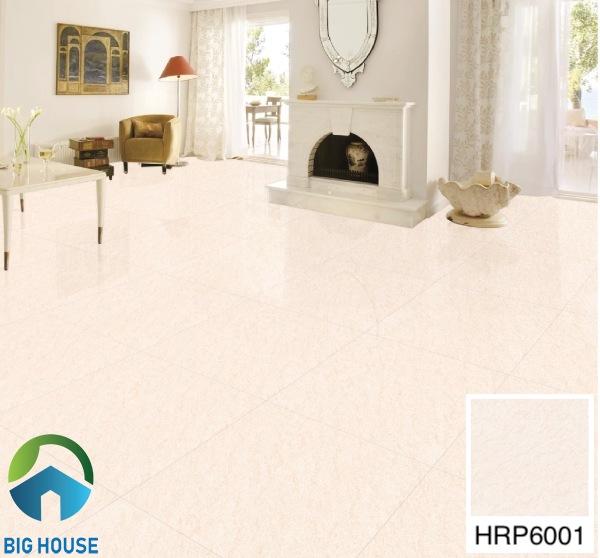 Gạch lát nền phòng khách 60x60 Bạch Mã HRP6001