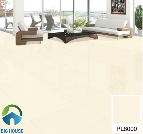 Gạch lát nền phòng khách 80x80 Bạch Mã PL8000